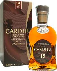 SCOTCH WHISKY CARDHU 15 Y.O.