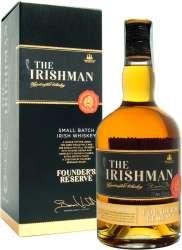 IRISH WHISKEY THE IRISHMAN FOUNDER'S RESERVE