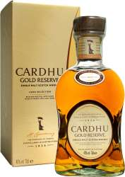 SCOTCH WHISKY CARDHU GOLD RESERVE