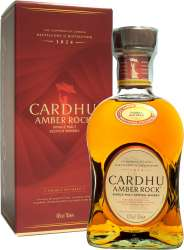 SCOTCH WHISKY CARDHU AMBER ROCK