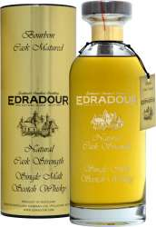 SCOTCH WHISKY EDRADOUR 10 Y.O. BOURBON CASK