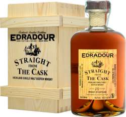 SCOTCH WHISKY EDRADOUR 10 Y.O. SHERRY CASK