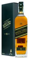 SCOTCH WHISKY JOHNNIE WALKER 15 Y.O. GREEN LABEL
