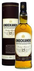 SCOTCH WHISKY KNOCKANDO 15 Y.O.