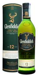 SCOTCH WHISKY GLENFIDDICH 12 Y.O.