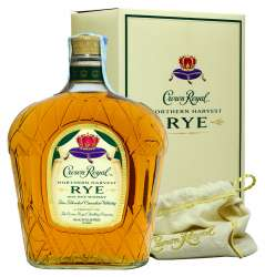 CANADIAN WHISKY CROWN ROYAL RYE