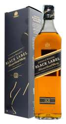 SCOTCH WHISKY JOHNNIE WALKER 12 Y.O. BLACK LABEL